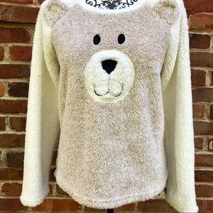 JACLYN INTIMATES Super Soft Teddy Bear Top